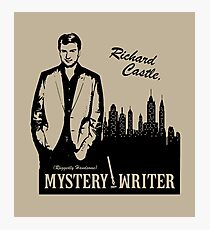 Richard Castle, Mystery Writer Photographic Print