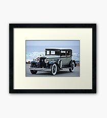 1931 Cadillac 341B Town Sedan Framed Print