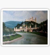Salzburg Fortress Sticker