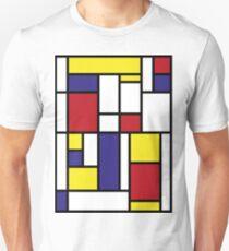 MONDRIAN HOMAGE Unisex T-Shirt