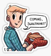 "Eric ""Bitty"" Bittle ""Coming Sweetheart!""  Sticker"