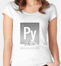 Pythagorean Theorem Women's Fitted Scoop T-Shirt
