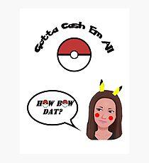 Catch Me Outside Girl vs Pokemon Photographic Print