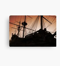 The Galleon Canvas Print