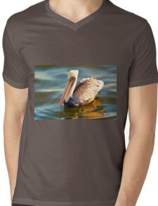 PelicanProfile Mens V-Neck T-Shirt