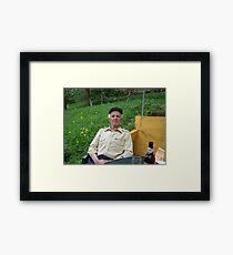 Bosnian Grandfather Framed Print