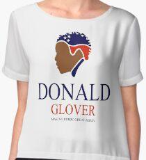 Donald Glover Donald Trump parody design Chiffon Top