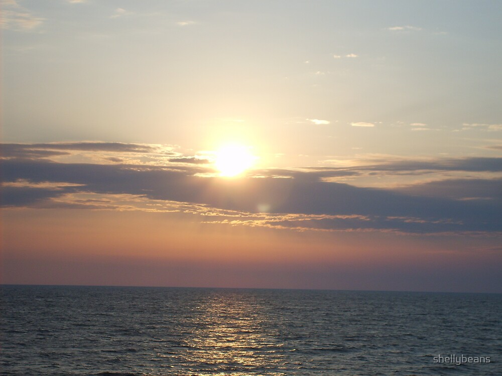 Hatteras Sunrise by shellybeans