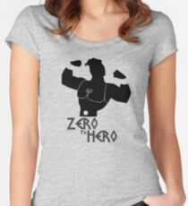 ZHERO Women's Fitted Scoop T-Shirt