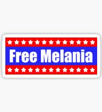 Free Melania Protest Products Sticker