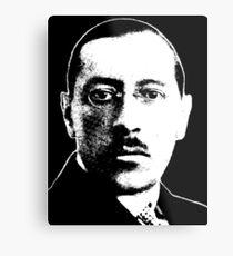 Igor Stravinsky - Absolute Genius Metal Print