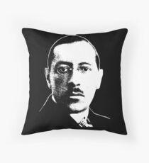 Igor Stravinsky - Absolute Genius Throw Pillow