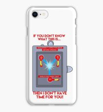Flux Capacitor - If you don't know iPhone Case/Skin