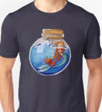 Mermaid Bottle Message T-Shirt