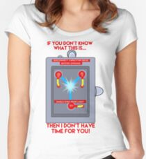 Flux Capacitor - If you don't know Women's Fitted Scoop T-Shirt