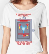 Flux Capacitor - If you don't know Women's Relaxed Fit T-Shirt