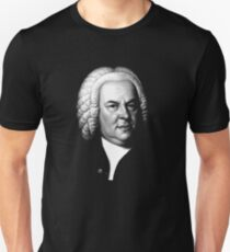 Johann Sebastian Bach, Perhaps the Greatest Composer Ever Unisex T-Shirt