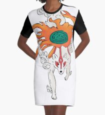 Okami: Amaterasu Graphic T-Shirt Dress