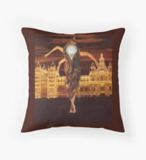 M Blackwell - Long Live the Queen! Throw Pillow