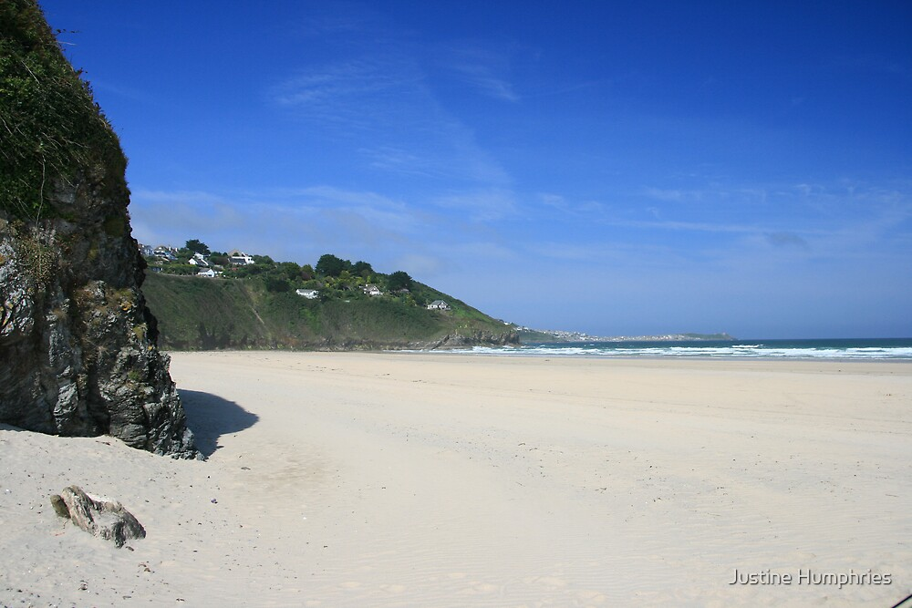 Porth Kidney Sands by Justine Humphries