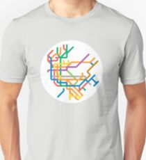 Mini Metros - New York, United States Unisex T-Shirt