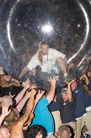 Bubble man by Krystle D