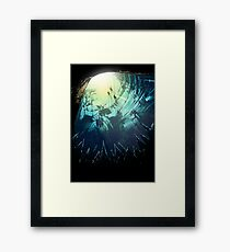 Sub Terra - Graphic Novel Cover Framed Print