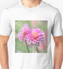 Pompon Dahlias Unisex T-Shirt