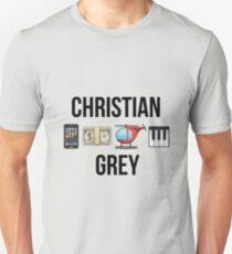 Christian Grey   Fifty Shades of Grey Unisex T-Shirt