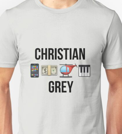 Christian Grey | Fifty Shades of Grey Unisex T-Shirt