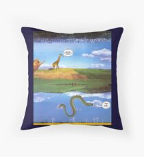 M Blackwell - Layerland 1: What a Dork Throw Pillow