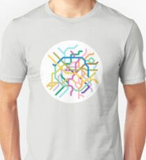 Mini Metros - Paris, France Unisex T-Shirt