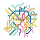 Mini Metros - Paris, France by transitoriented