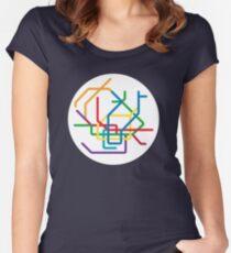Mini Metros - Hamburg, Germany Women's Fitted Scoop T-Shirt