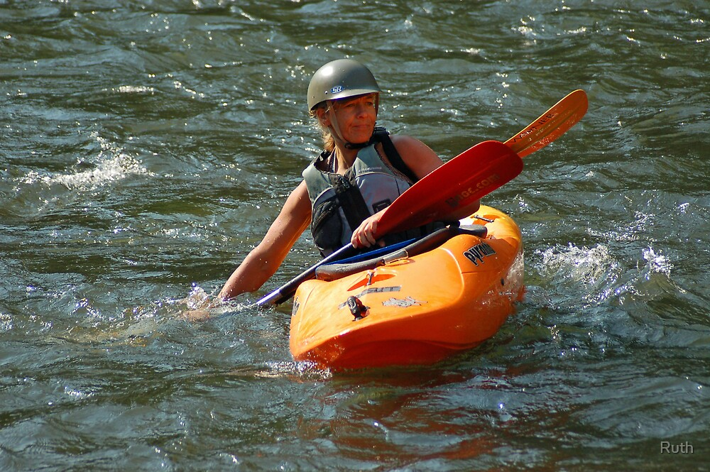 Let's go kayaking by Ruth