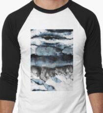 Abstract Marble Men's Baseball ¾ T-Shirt