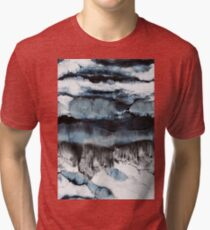 Abstract Marble Tri-blend T-Shirt
