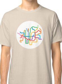 Mini Metros - Barcelona, Spain Classic T-Shirt