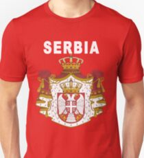 Serbia National Football Fan Jersey Design Unisex T-Shirt