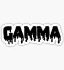 drippy gamma Sticker
