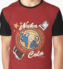 Fallout nuka cola logo featuring Vaultboy Graphic T-Shirt