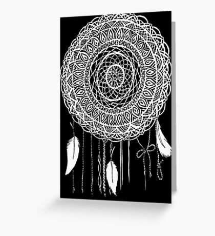 Lace Dream Catcher Greeting Card