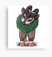 Gogoat Plant Pokemon  Canvas Print
