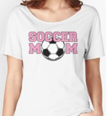 Soccer Mom Pink Women's Relaxed Fit T-Shirt
