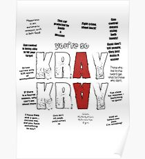 You're so Kray Kray Poster
