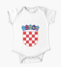 Croatia Deluxe Football Jersey Design One Piece - Short Sleeve