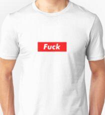 Fuck box logo Unisex T-Shirt