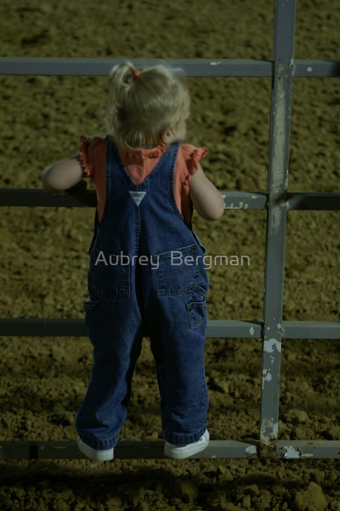 The little spectater by Aubrey  Bergman