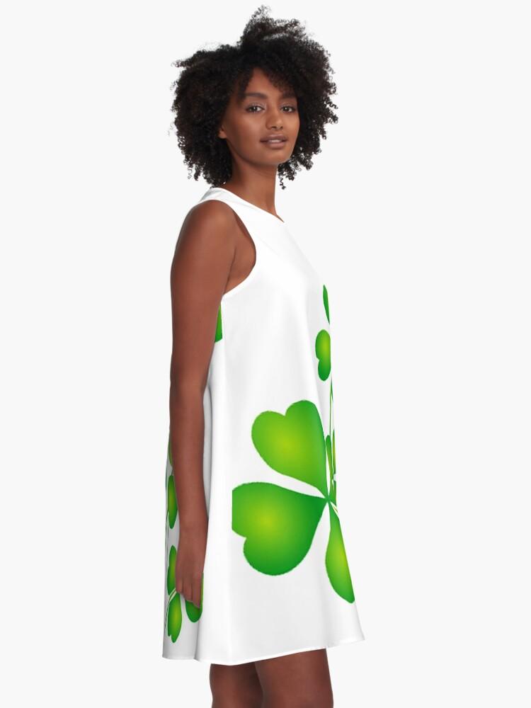 Alternate view of SHAMROCKS A-Line Dress