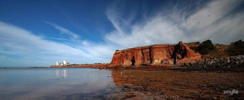 Ardrossan Cliffs by smylie